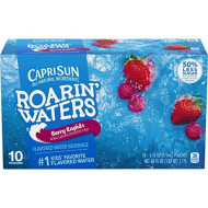 Capri Sun Roarin' Waters Berry Juice Drink (6 Oz Pouches, 4 Boxes Of 10)