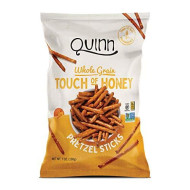 Quinn Snacks Non-Gmo And Gluten Free Pretzels, Touch Of Honey, 7 Ounce