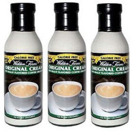Walden Farms Original Coffee Creamer 3 Pack