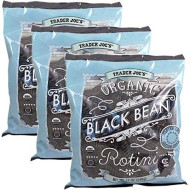 Trader Joe's Organic Black Bean Rotini - 3 Pack