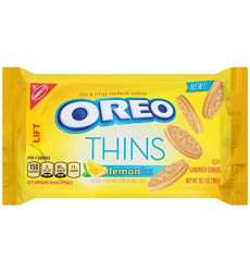 Oreo Golden Thins With Lemon Cream, 10.1 Ounce ( Pack Of 2 )