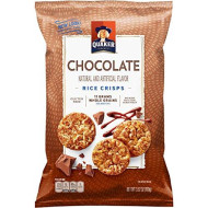 Quaker Rice Crisps, Chocolate, 3.52 Oz Bags, 12 Count (Packaging May Vary)