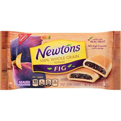 Newtons Fruit Chewy Cookies,Whole Grain Fig, 10 Ounce (Pack Of 12)