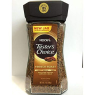New Jar Tasters Choice French Roast Instant Coffee, 3 Bottles X 7 Oz Canister.