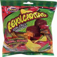 Jovy Revolcaditas With Chili Watermelon & Mango Flavors | 6Oz Bag | Mexican Candy