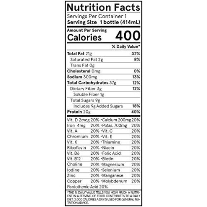 Soylent Meal Replacement Shake, Cafe Mocha, 12-Pack, Complete Meal In A Bottle, 20G Plant Protein, 14 Oz Bottles