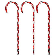 Noma/Inliten-Import 3PC Path Candy Cane