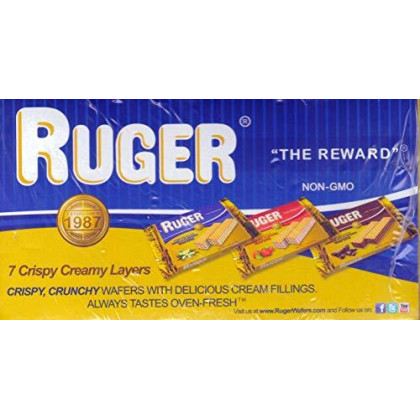 Ruger Wafers, Austrian Strawberry, 2.125 Ounce (Pack of 12) by Ruger