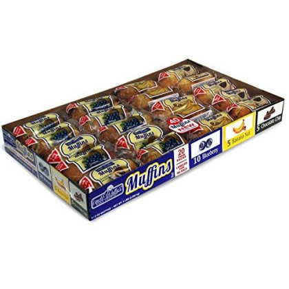 Uncle Wally'S Muffins Variety Pack (20 Twin Pks.)