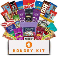 Hangry Kit - Man Kit - Gift For Men - College Care Package - Full Of What Men Crave - Nuts, Meat, Protein, And Snacks