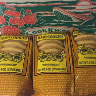 The Original Maui Hawaii CookKwees Cookies (Shortbread)