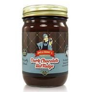 Uncle Denny'S Dark Chocolate Hot Fudge Gourmet Ice Cream Topping By Pioneer Valley