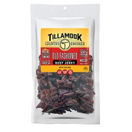 Tillamook Country Smoker All Natural, Real Hardwood smokd Old Fashioned Beef Jerky, 10 Oz Bag