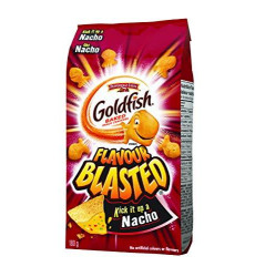 Pepperidge Farm, Goldfish, Flavour Blasted Baked Nacho Crackers, 180g/6.3oz (Imported from Canada)