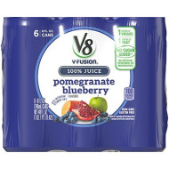 V8 Pomegranate Blueberry, 8 oz. Can, 6 Count