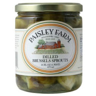 Paisley Farm Dilled Brussel Sprout, 16 Ounce - 12 Per Case.