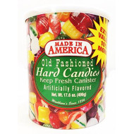 Washburn'S Old Fashioned Hard Candy 17.6 Oz Canister
