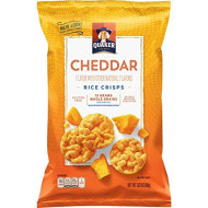 Quaker Rice Crisps, Cheddar Cheese, 3.03 Oz Bags, 12 Count (Packaging May Vary)