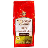 Molokai Estate 100% Moloka'i Coffee - Midnight Roast Whole Bean 1.5 lb