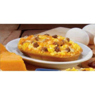 The Max Individually Wrapped Whole Grain Egg And Bacon Breakfast Pizza, 3.19 Ounce -- 96 Per Case.
