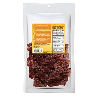 Tillamook Country Smoker All Natural, Real Hardwood smokd Honey Glazed Beef Jerky, 10 Oz Bag