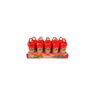Lucas Muecas Lollipop With Chili Powder CHERRY PACK OF 10 PCS Mexican Candy with Free Chocolate Kinder Bar Included Valentine's Day