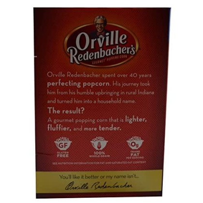 Orville Redenbachers Kettle Korn Classic Bag, 12-Count Box