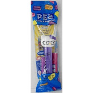 Nerdy Hello Kitty Pez Candy Dispenser in Cello with 2 Rolls Candy