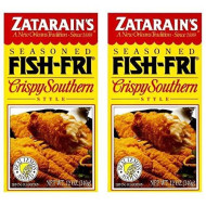 Zatarains Breading Crispy Fish Fry 12 Oz (Pack Of 2)