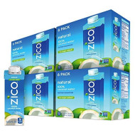 Zico Premium Natural Coconut Water Drinks, No Sugar Added Gluten Free, 8.45 Fluid Ounce (Pack Of 24)