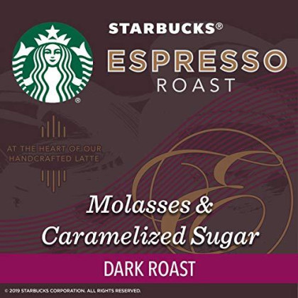 Starbucks Espresso Blend Dark Roast Whole Bean Coffee, 20 Oz. Bag | Great Holiday Gift For Coffee Lovers