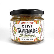 Trader Joe'S Olive Tapenade With Kalamata & Chalikidiki Olives Spread 9.5 Oz. (Single)