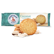 Voortman Bakery Coconut Cookies, 12.3 oz., Pack of 4 - Delicious Cookie Made with Real Ingredients, No High Fructose Corn Syrup or Artificial Additives