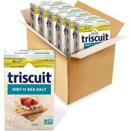 Triscuit Hint Of Salt Crackers (Pack Of 6) Non-Gmo