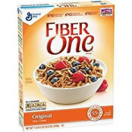Fiber One Original Bran Cereal No High Fructose 16.2 Oz. Pack Of 3.