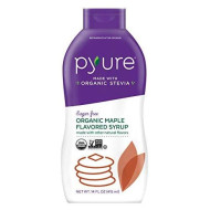 Pyure Organic Maple Flavored Syrup, Sugar Free, Low Net Carbs, Pancake Syrup, Perfect For Keto And Diabetic Lifestyles, Great Taste And Consistency, 14 Fluid Ounce