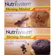 Nutrisystem Muffins (1 Box Double Chocolate + 1 Box Cinnamon)