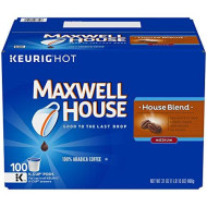 Maxwell House House Blend Coffee K-Cup Pods, 100 Count
