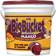 Master Of Mixes | Big Bucket Mango Margarita & Daiquiri Mix | Mango Flavor | 96 Ounces