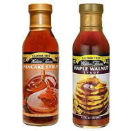 Walden Farms Calorie Free Maple Walnut Syrup & Pancake Syrup 12 Oz