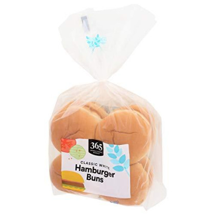 365 Everyday Value, Classic Hamburger Buns, 8 ct