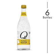 Q Mixers Tonic Water, Premium Cocktail Mixer, 500 Ml (6 Bottles)