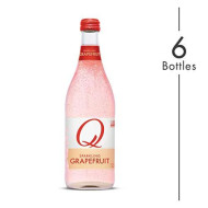 Q Mixers Grapefruit, Premium Cocktail Mixer, 500 Ml (6 Bottles)