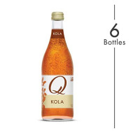 Q Mixers Kola, Premium Cocktail Mixer, 500 Ml (6 Bottles)