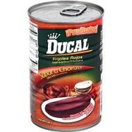Ducal Refried Red Beans With Chorizo Flavor, 15 Ounce (Pack Of 24)
