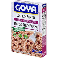 Goya Foods Central American Rice & Red Beans, 7 Ounce (Pack Of 12)