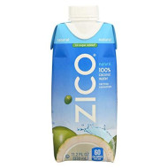 Zico Coconut Water, Pure Coconut Water, Pack Of 12, Size - 330 Ml, Quantity - 1 Case