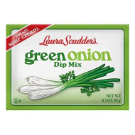 Laura Scudders Green Onion Dry Dip Mix And Seasoning - Great For Vegetables, Chips, Sauces And Seasoning (4-2)