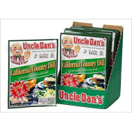 Uncle Dan's California Country Dill Dressing, Dip, & Seasoning Mix - 12 Pack Case
