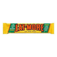 Lot of 10 Eat-more Candy Bars Dark Canada Toffee Peanut Chocolate Candy Bars 52 Grams Each From Canada